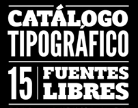 Catálogo Free Fonts