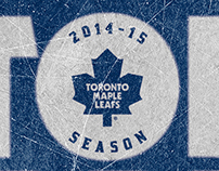 Toronto Maple Leafs 2014-15 Season Ticket Package