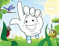 'Woppaglove' - Children's book illustration