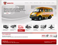 Website gor GAZavto Azerbaijan
