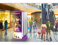 Cosmetic Popup Store (PLV / Retail / Exhibit Design)
