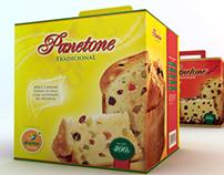 Embalagem Panettone Bretas