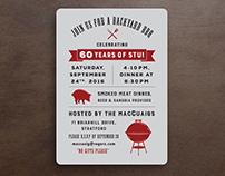 BBQ Invitation Design