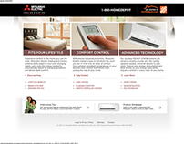 Home Depot & Mitsubishi Electric - Microsite - Dev-2012