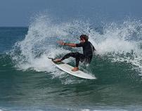 Surf in Les Landes. Summer 2015.