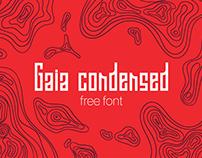 Gaia Condensed | Free Font