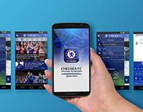 Chelsea FC Newsfeed & Keyboard