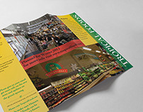 Tropical Foods - Trifold Brochure