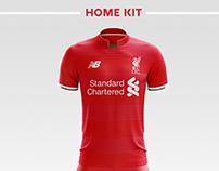 Fc Liverpool Football Kit 18/19.