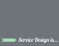 Service Design is...