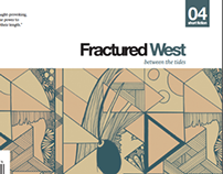 Cover Art Work for Fractuered West- live brief