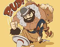 Bud Spencer contest t-shirt design