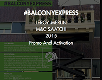 LEROY MERLIN \ #BalconyExpress
