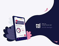 PHYD UI/UX