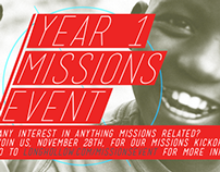 Year 1 Missions Event