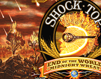 Shock Top: End of the World Illustrated Labels...