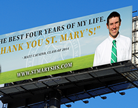 St. Mary's High School Billboards