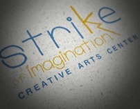 Strike Creative Arts Center | Identity and Collateral