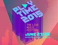 Playtime 2015 Live Music Festival