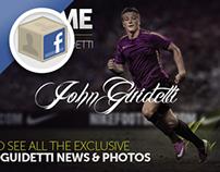 John Guidetti - Facebook App & Twitter