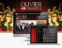 Laurence Olivier Awards - Website