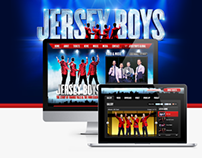 Jersey Boys (London Musical) - Website