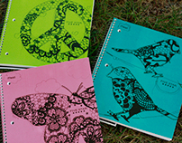 Five Star Lacey Icon Notebooks