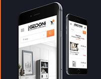"""GEDONI"" — Furniture and Accessories Shop"