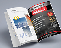 Magazine Ad JK Tyre