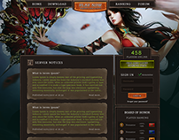 Metin2 Homepage design. FOR SALE.