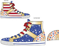 July 4th Shoes For PS Aeropostale