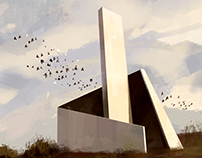 [Digital Drawing] The Monument