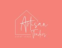 Artsy Logo Concept - Artisan Traders