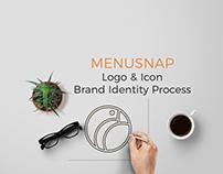Menusnap. Logo & Icon – Brand Identity Process