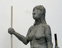 Full Female Clay Figures 2013