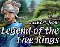 Legend of the Five Rings artwork