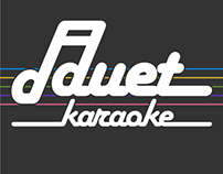Duet Karaoke Logo, Website, and App