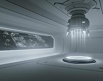 RESEARCHER / 2015 / Sci-Fi Interiors