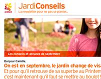 Charte emailing Jardiland