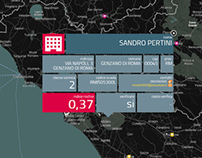 Interactive Map for Wired Italia