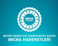 Nissan Micra Hareketler