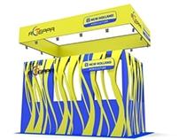 Asterra booth design