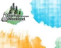 Logo en stijl voor Startup Weekend Groningen