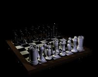 3D Projekt - Schachbrett