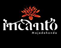 Incanto Majadahonda, logo design.