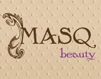 MASQ Beauty The Brow Boutique Logo Design
