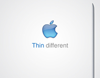 Apple : thin different