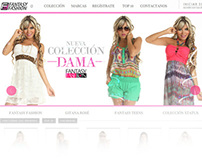 Fantasy Fashion Online Store Web Site