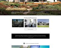 Website: Real Estate Concept