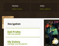 Meritage Art Website